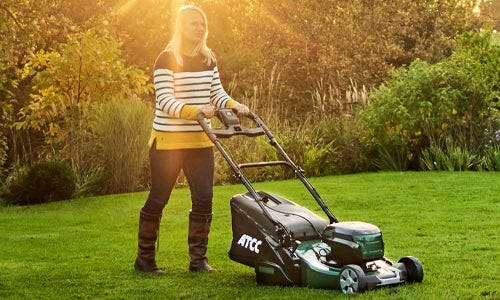Cordless Roller mowers
