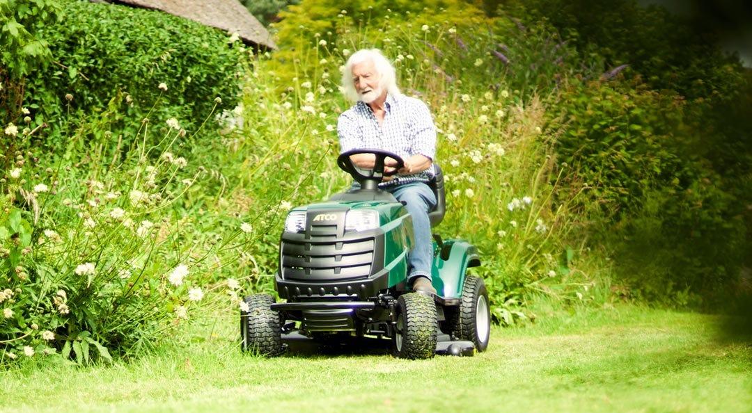 garden tractor atco