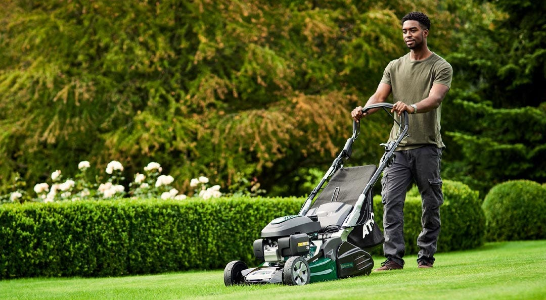 roller lawnmowers atco